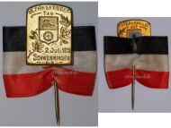 Germany Prussia Patriotic Veterans Day 1911 pin Imperial Army Decoration German Empire Prussian Kingdom