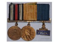 Germany Combatants Franco Prussian War Military Medal 1870 Centenary Long Service Kaiser Wilhelm set