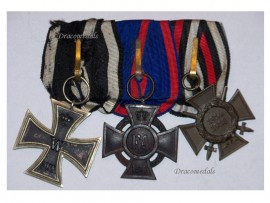 Germany WW1 Iron Oldenburg Friedrich August Merit Hindenburg Cross G19 EK2 FA2 Military Medals set 1914 1918 Decoration