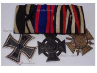 Germany WW1 Iron Oldenburg Friedrich August Merit Hindenburg Cross EK2 FA2 Military Medals set 1914 1918 Decoration by DRP