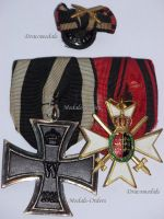 Germany WW1 Wurttemberg Commemorative War Decoration Army Veterans Association Iron Cross EK2 Military Medals set German 1914 1918