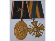 Germany WW1 Kyffhauser Regimental Loyalty Cross Grenadier Regiment Veterans Military Medals set German 1914