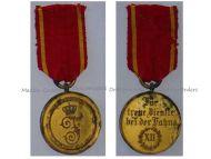 Germany WW1 Baden Long Military Service Medal 2nd Class XII years 1913 WWI 1914 1918  Grand Duke Friedrich II Decoration German