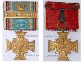 Germany WW1 Regimental Cross Honor Bavaria 15th Royal Bavarian Infantry Regiment King Friedrich August Saxony Great War 1914 1918