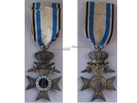 Germany WWI Bavaria Merenti Cross of Military Merit 2nd Class with Swords Crown