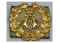 Germany WWI Bavaria Prince Alfons Service Commemorative Gold Badge on Shooting Performance Ribbon by Heinloth Marked DRGM