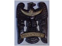 Germany Silesian Eagle Badge 1st Class Freikorps 1919 Weimar Republic in Iron