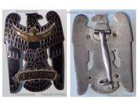 Germany Silesian Eagle Badge 1st Class Freikorps 1919 Weimar Republic Enameled