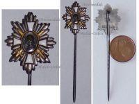 Germany WWI German Field Decoration Honor Stickpin Badge Hamburg Veterans Association 1914 1918 MINI