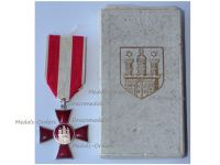 Germany WWI Hamburg Hanseatic War Cross 1914 1918 Boxed