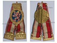 Germany WW1 Hessian Veterans Military Medal Hesse Darmstadt German WWI Great War 1914 1918 Maker H. Meyer