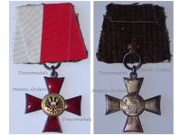 Germany WWI Lubeck Hanseatic War Cross 1914 1918 on Single Bar