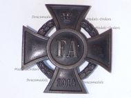 Germany WWI Oldenburg Friedrich August Merit Cross 1st Class FA1 1914