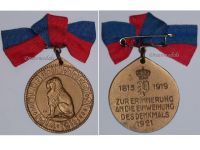 Germany WW1 Oldenburg 91 Infantry Regiment Centenary Military Medal 1819 1919 Decoration Award Great War