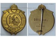 Germany Prussia WW1 Fire Department Badge for 25 Years Long Meritorious Service 1925 1933