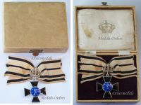 Germany WW1 Royal Order Louise Prussia with Crown 2nd Contingent 1st Class Cross Ladies Civil Military Medal Kaiser Wilhelm II Great War 1914 1918
