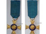 Germany Royal Order Crown Cross Prussia 4th Class Military Civil Medal 1891 Imperial Kaiser Wilhelm Maker N