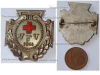 Germany WWI German Red Cross VFV Fatherland Ladies Association Badge for Nurses by Stubbe