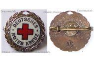 Germany German Red Cross Silver Honor Badge 1950s