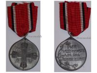 Germany WWI Prussia Red Cross Service Medal 3rd Class in Zinc