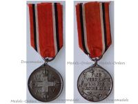 Germany WWI Prussia Red Cross Service Medal 3rd Class in Steel