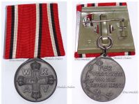 Germany WWI Prussia Red Cross Service Medal 3rd Class in Zinc on Large Bar