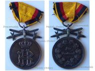 Germany WWI Silver Medal of Merit with Swords of  the Princely Reuss Cross of Honor