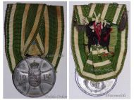Germany WW1 Saxe Altenburg WW1 Bravery Tapferkeit Military Medal German Great War Decoration 1914 1918
