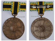Germany WW1 War Merit Military Medal 1915 Non Combatants Bronze Saxe Meiningen Great War 1914 1918