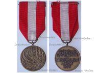 Germany Lower Saxony Wardbrand Disaster Commemorative Medal 1975