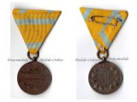 Germany Saxony WW1 Friedrich August Military Medal Merit Bronze German Decoration Great War 1914 1918