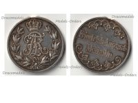 Germany Saxony WWI Friedrich August Medal for Military Merit Silver Class 1905 1918