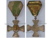 Germany Saxony WWI Veterans Association Cross 3rd Class for 25 Years Memebrship by Glaser
