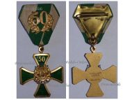 Germany Saxony WWI Veterans Association Cross 1st Class for 50 Years Memebrship by Glaser