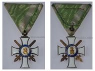 Germany Saxony WW1 Albert Albrecht Order Knight's Cross Swords II Cl. Military Medal German Decoration 1914