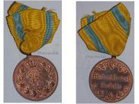 Germany Saxony WWI Friedrich August Medal for Military Merit Bronze Class 1905 1918
