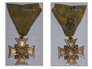 Germany Saxony War Service Cross Combatants 1866 German Civil War vs Prussia Medal Saxon Decoration Award