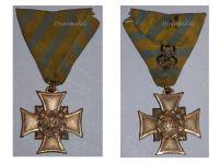 Germany Saxony 1866 German Civil War Commemorative Cross for Combatants