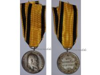 Germany WWI Wurttemberg Silver Medal for Bravery, Loyalty and Military Merit Tapferkeit 1892 1918