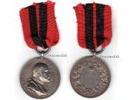 Germany Wurttemberg Silver Jubilee Medal Reign King Karl 1864 1889 Military German Decoration Award