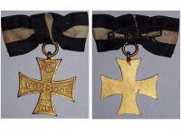 Germany WWI Prussia Veterans Association of Munster Membership Cross 1884