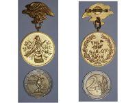 West Germany Hunters Regiment Shooting Patriotic badge 1965 German Cold War Regimental Decoration Award