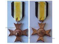 Germany WW1 Barbara Cross German Heavy Artillery Military Veterans Association Medal WWI 1914 1918 Decoration Weimar Republic 1923