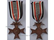 Germany Honorary Union German WWI Veterans War Cross of Honor with  Swords 1914 1918