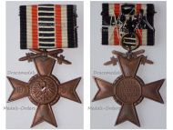 Germany Honorary Union German WWI Veterans War Cross of Honor with  Swords 1914 1918 on Bar