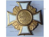 Germany Prussia WWI War Cross Honor of the Land Combatants Association Model of 1925 by H. Timm Berlin G19