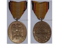 Germany Upper Silesia 1921 Commemorative Military Medal Freikorps Volunteers WWI German Decoration Weimar Republic