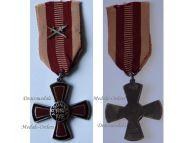 Germany WW1 Argonne Battle Veterans Cross Swords Military Medal 1914 1918 Decoration German Weimar Republic 1st Type Maker Fleck & Sohn