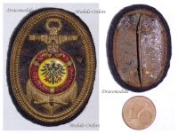 Germany WW1 Imperial Navy Fleet Veterans Association Cap Badge Naval 1914 1918 German WWI Great War