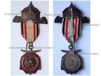 Germany WWI Imperial Navy Fleet Veterans Association Silver Badge for the Recipients of the Diploma of Honor